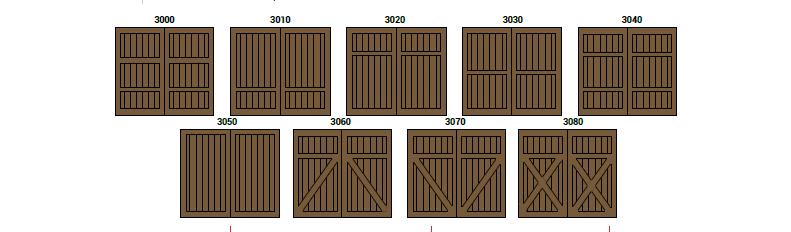CHD Colección 3000 by SAGSA Doors and Gates