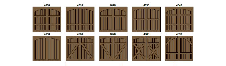 CHD Colección 4000 by SAGSA Doors and Gates