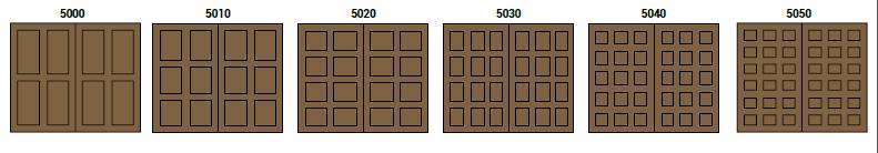 CHD Colección 5000 by SAGSA Doors and Gates
