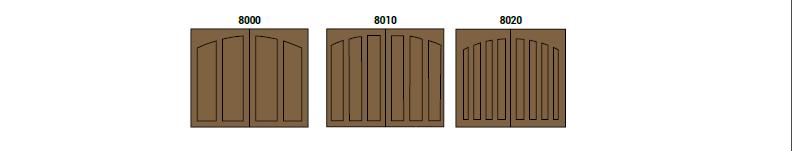 CHD Colección 8000 by SAGSA Doors and Gates