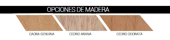 CHD Diseño de Puertas de Madera OPCIONES DE MADERA by SAGSA Doors and Gates