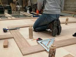 fabricación puertas de madera CHD by SAGSA Doors and Gates